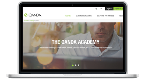 Learn forex and CFD trading online with OANDA education